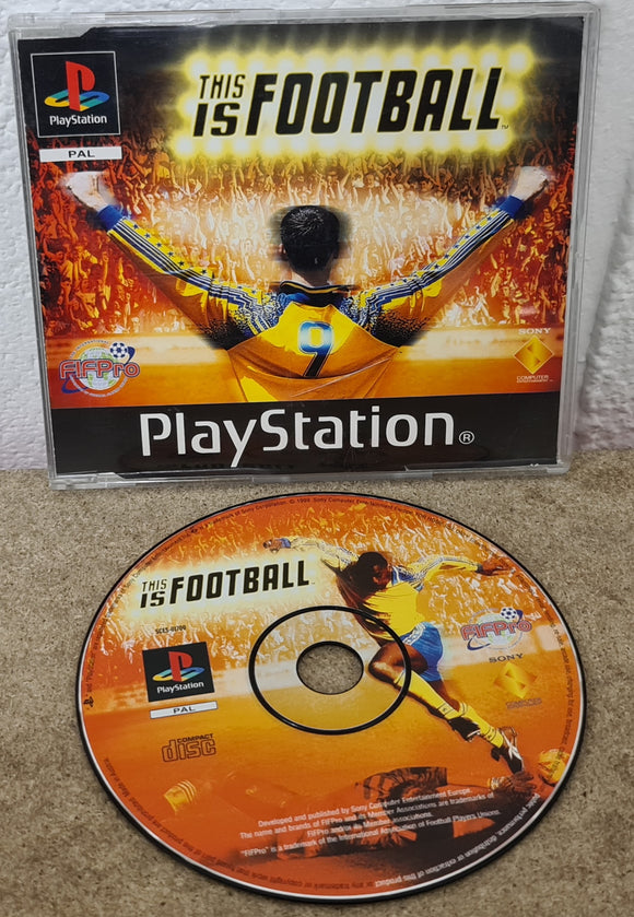 This is Football RARE for Display Purposes Only Case Sony Playstation 1 (PS1) Game