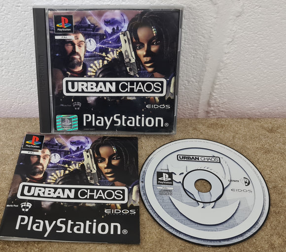 Urban Chaos Sony Playstation 1 (PS1) Game
