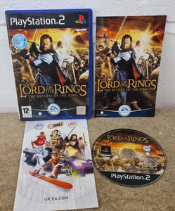 The Lord of the Rings Return of the King Sony Playstation 2 (PS2) Game