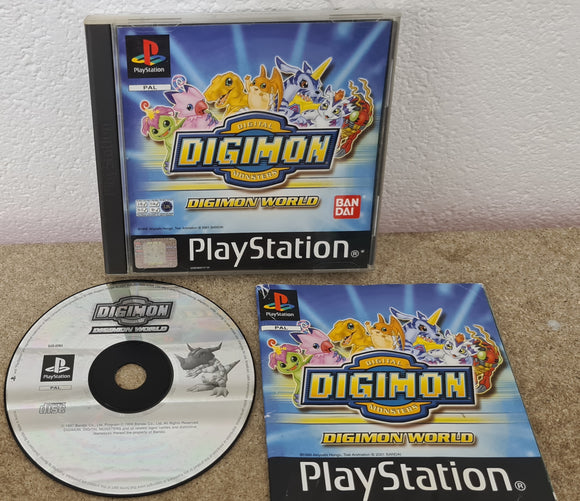 Digimon World Sony Playstation 1 (PS1) Game