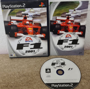 F1 2001 Sony Playstation 2 (PS2) Game