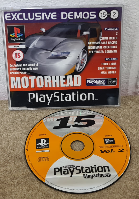 Sony Playstation 1 (PS1) Magazine Demo Disc 15 vol 2