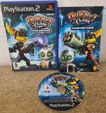 Ratchet & Clank 2 Locked and Loaded AKA Going Commando Sony Playstation 2 (PS2) Game