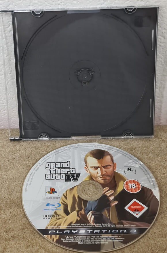 Grand Theft Auto IV Sony Playstation 3 (PS3) Game Disc Only