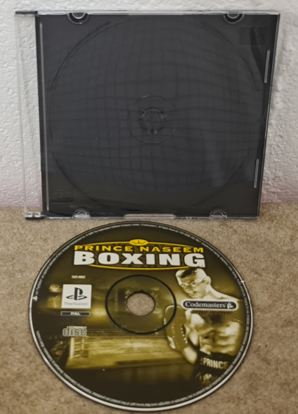 Prince Naseem Boxing Sony Playstation 1 (PS1) Game Disc Only