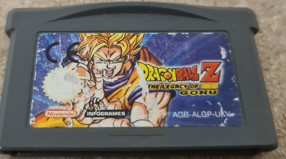 Dragon Ball Z the Legacy of Goku Nintendo Game Boy Advance Game Cartridge Only
