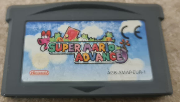 Super Mario Advance Nintendo Game Boy Advance Game Cartridge Only