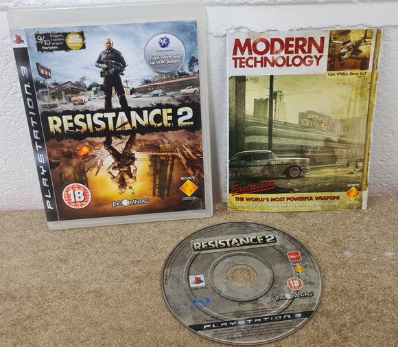 Resistance 2 Sony Playstation 3 (PS3) Game