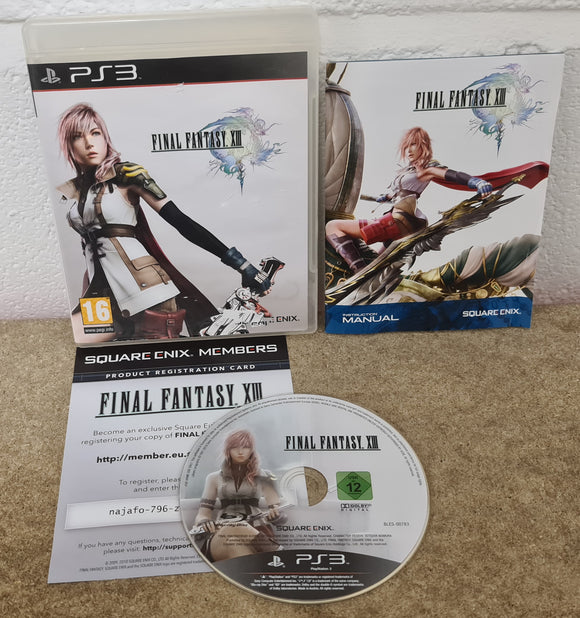Final Fantasy XIII Sony Playstation 3 (PS3) Game