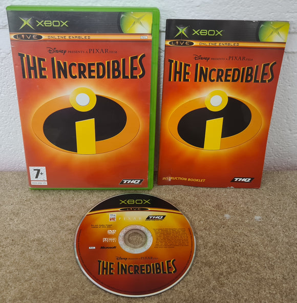 The Incredibles Microsoft Xbox Game