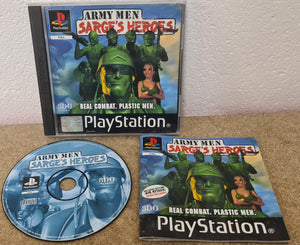 Army Men Sarge's Heroes Sony Playstation 1 (PS1) Game