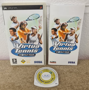 Virtua Tennis World Tour Sony PSP Game