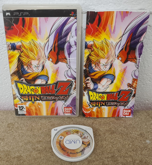 Dragon Ball Z Shin Budokai Sony PSP Game