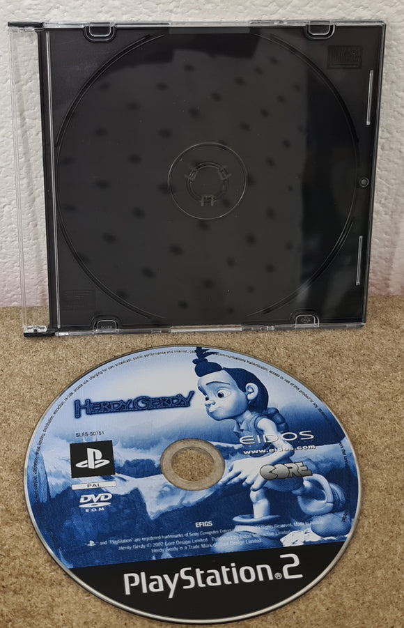 Herdy Gerdy Sony Playstation 2 (PS2) Game Disc Only