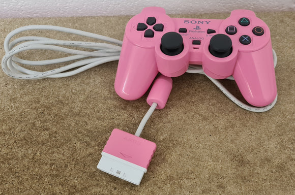 Official Pink Sony Playstation 2 (PS2) Controller Accessory