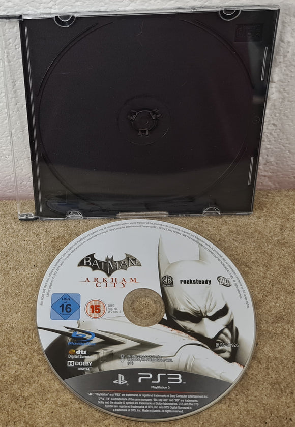 Batman Arkham City Sony Playstation 3 (PS3) Game Disc Only