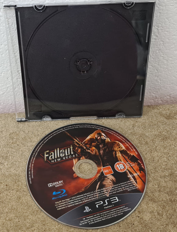 Fallout New Vegas Sony Playstation 3 (PS3) Game Disc Only
