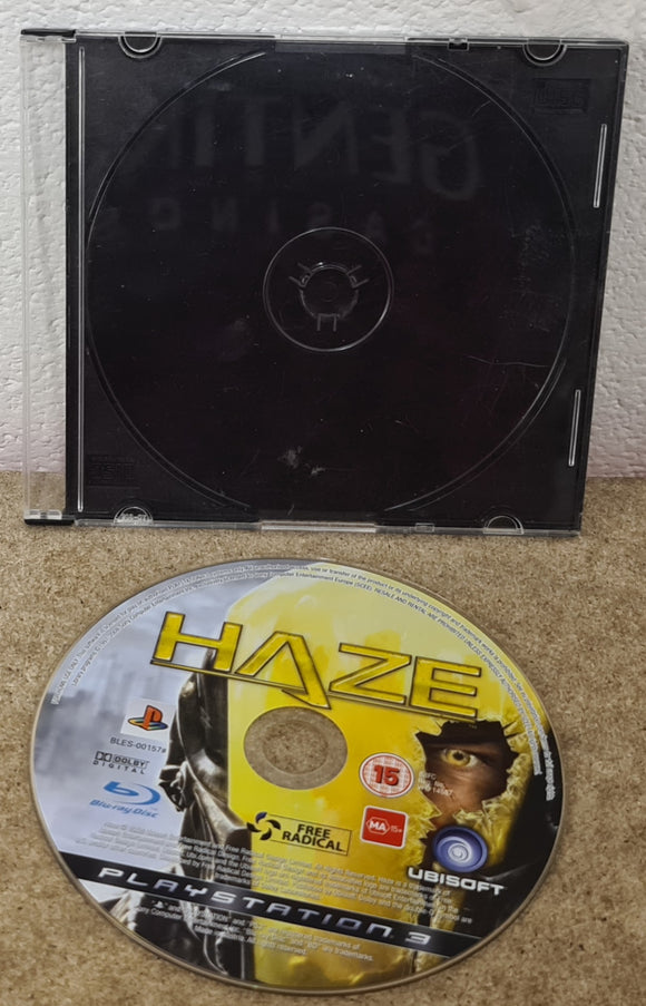 Haze Sony Playstation 3 (PS3) Game Disc Only