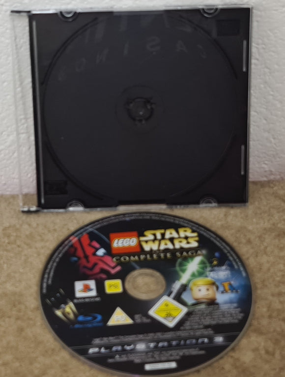 Lego Star Wars the Complete Saga Sony Playstation 3 (PS3) Game Disc Only