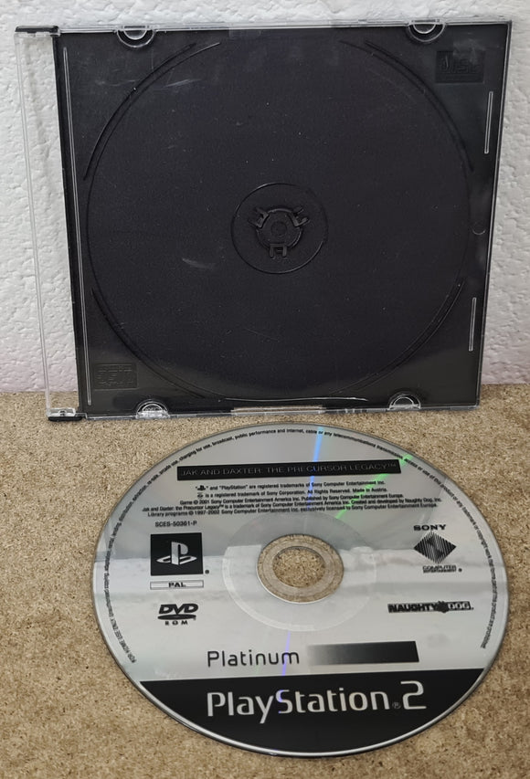 Jak and Daxter the Precursor Legacy Sony Playstation 2 (PS2) Game Disc Only