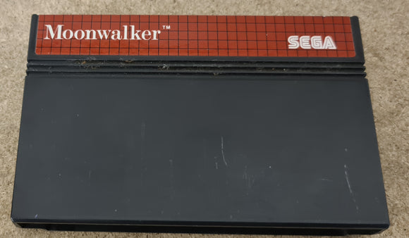 Michael Jackson's Moonwalker Sega Master System Game Cartridge Only