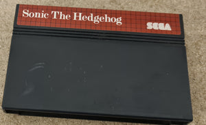 Sonic the Hedgehog Sega Master System Game Cartridge Only