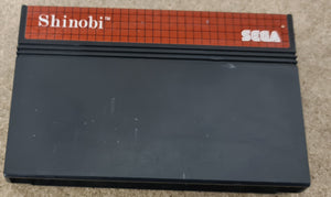 Shinobi Sega Master System Game Cartridge Only