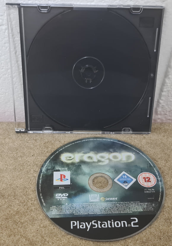 Eragon Sony Playstation 2 (PS2) Game Disc Only
