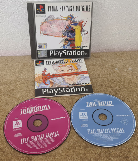 Final Fantasy Origins Sony Playstation 1 (PS1) Game