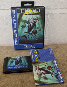 Ecco the Tides of Time Sega Mega Drive Game