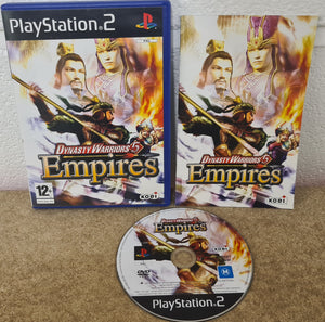 Dynasty Warriors 5 Empires Sony Playstation 2 (PS2) Game