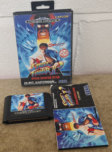 Street Fighter II Special Champion Edition. Sega Mega Drive Game