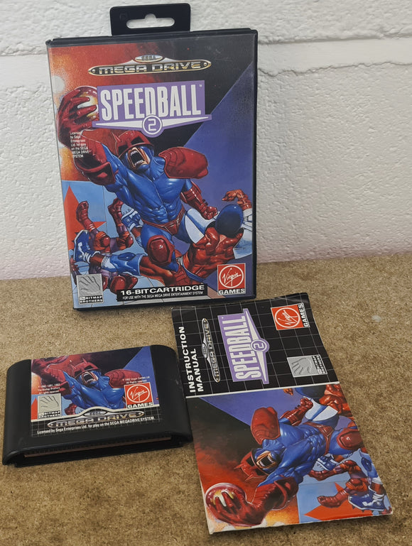 Speedball 2 Sega Mega Drive Game