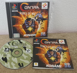 Contra Legacy of War Sony Playstation 1 (PS1) Game