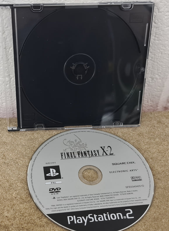 Final Fantasy X-2 Sony Playstation 2 (PS2) Game Disc Only