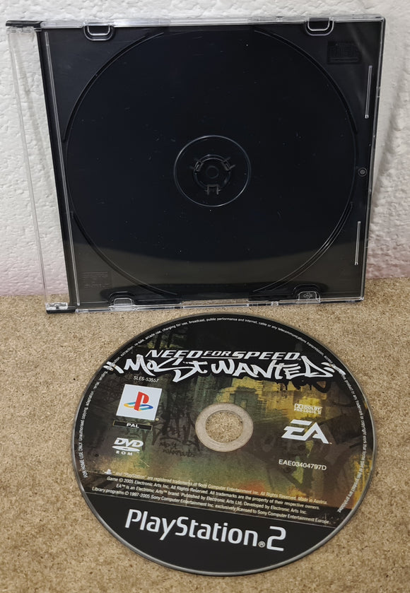 Need for Speed Most Wanted Sony Playstation 2 (PS2) Game Disc Only