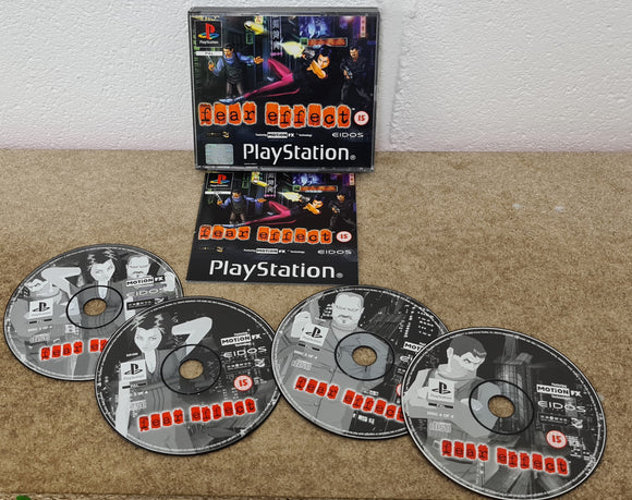 Fear Effect Sony Playstation 1 (PS1) Game