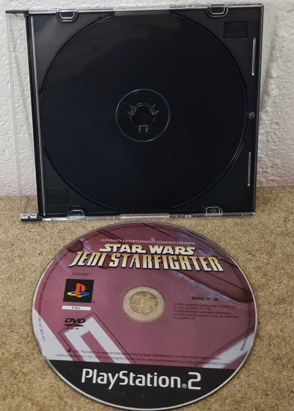 Star Wars Jedi Starfighter Sony Playstation 2 (PS2) Game Disc Only