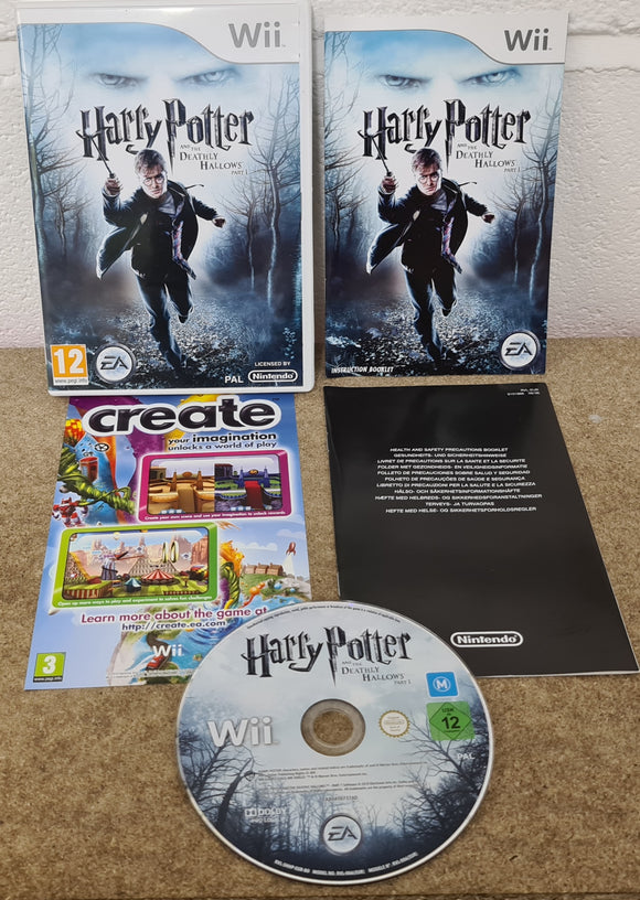 Harry Potter and the Deathly Hallows Part 1 Nintendo Wii Game