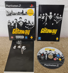 The Getaway with Map Black Label Sony Playstation 2 (PS2) Game