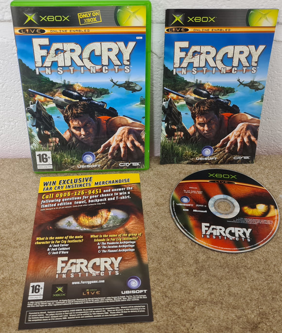 Far Cry Instincts Microsoft Xbox Game