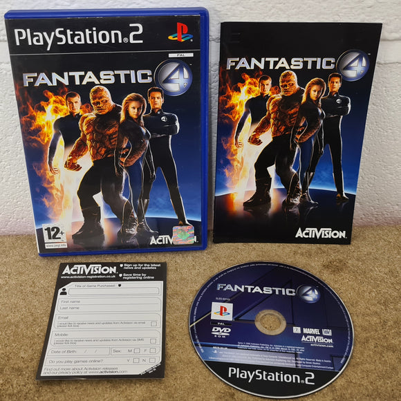 Fantastic Four Sony Playstation 2 (PS2) Game