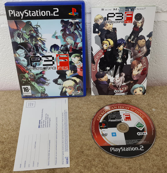Persona 3 FES Sony Playstation 2 (PS2) Game