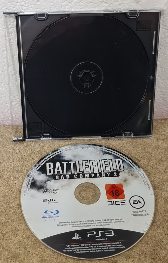 Battlefield Bad Company 2 Sony Playstation 3 (PS3) Game Disc Only