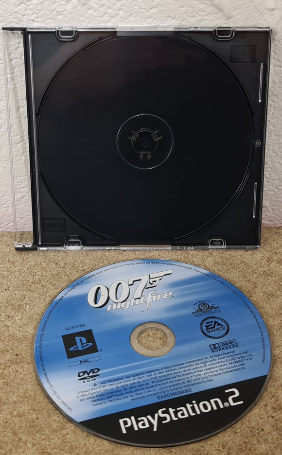 James Bond 007 Nightfire Sony Playstation 2 (PS2) Game Disc Only