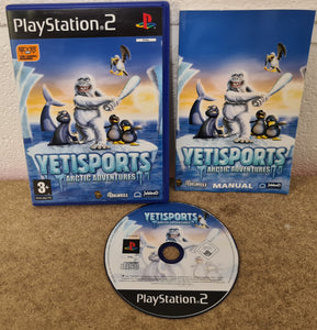 Yetisports Arctic Adventures Sony Playstation 2 (PS2) Game