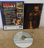 Resident Evil Survivor 2 Code Veronica Sony Playstation 2 (PS2) Game