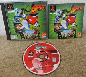 Spot Goes To Hollywood PS1 (Sony PlayStation 1) game