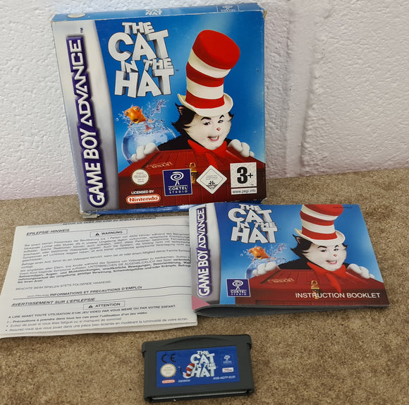 Cat in the Hat Nintendo Game Boy Advance Game