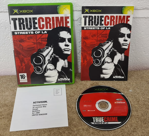 True Crime Streets of L.A Microsoft Xbox Game